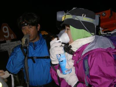 酸素を吸って高山病対策