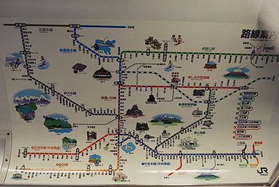 信州路線図